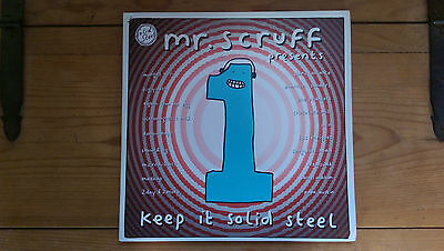 Mr. Scruff ~ Keep it Solid Steel ~ 3xLP ~ 2004 ~ Hip Hop Breakbeat ~ Ninja Tune