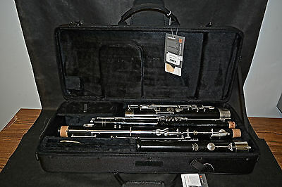 Linton Bassoon Model 5K Plastic Repadded New Case and Bocal