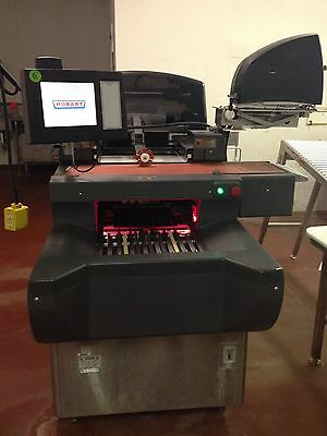 Hobart AWS Automatic Meat Grocery Auto Wrapper Wrapping Scale System. WE SHIP!