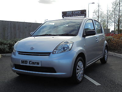 2007 DAIHATSU SIRION 1.0 S SILVER 62,000 Miles New MOT ,Only £30 a year tax