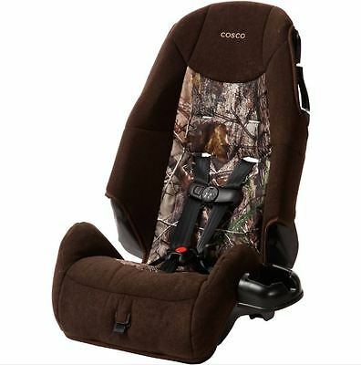 Cosco High Back Booster Baby Car Seat Convertible Safety Toddler Travel Realtree