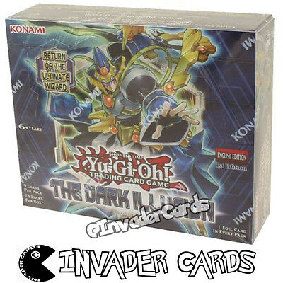 YuGiOh The Dark Illusion TDIL 1st Edition Booster Box New Sealed 24 Pack Konami