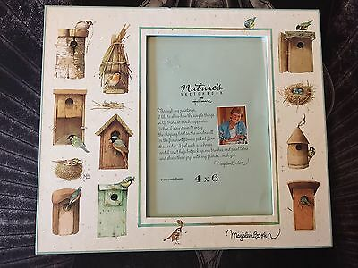Hallmark Marjolein Bastin Nature's Sketchbook Picture Photo Frame 4x6 Birdhouses