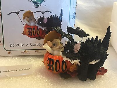 """Charming Tails """"DON'T BE A SCAREDY CAT"""" DEAN GRIFF HALLOWEEN"""