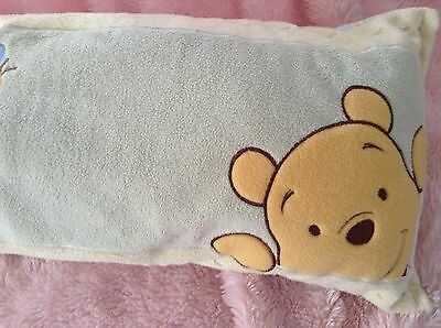 Soft Plush Pillow Winnie the Pooh Custom Baby Nursery Unisex Crib Disney