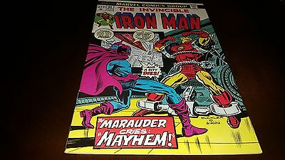 Iron Man #61 (Aug 1973, Marvel) VF/VF+.....MARAUDER!!!