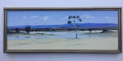 D Ply Interior Scene Oil Painting Framed