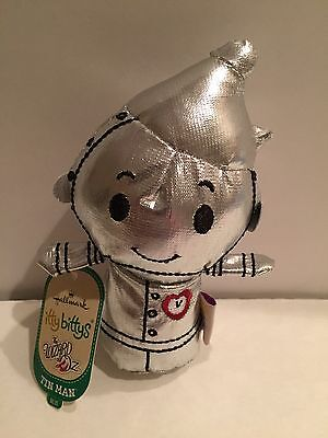 Hallmark Itty Bitty Tin Man The Wizard Of Oz Ornament Mint With Tag