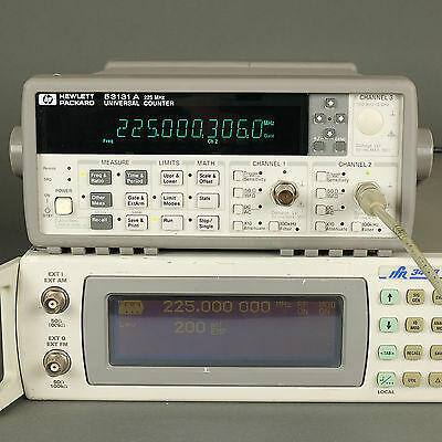 HP/Agilent 53131A 225 MHz Unuversal Frequency Counter - TESTED