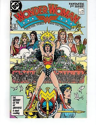 Woman Woman #1.DC Comics 1987. George Perez Art. HIGH GRADE. New movie this Year