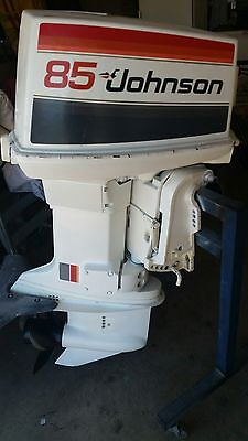 JOHNSON 85hp V4 OUTBOARD MOTOR INTERSTATE SHIPPING