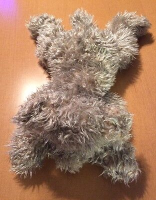 Ty Classic Gray Shaggy Scruffy Dog Named Rags From 2000