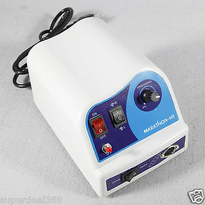 New Dental Lab Micromotor Marathon Drill Polisher N8 to 50K RPM Handpiece Top