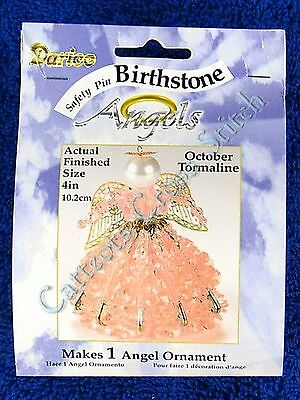 Angel Birthstone Bead Kit #10 ~ October / Tormaline