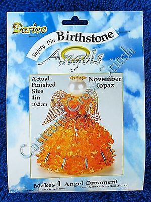 Angel Birthstone Bead Kit #11 ~ November / Topaz