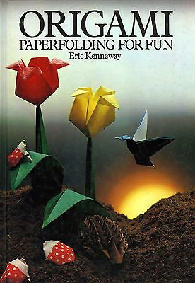 Kenneway ORIGAMI PAPER FOLDING FOR FUN vintage 1980