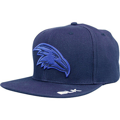 Adelaide Crows AFL 2016 BLK Official Players On Field Flat Peak Cap!