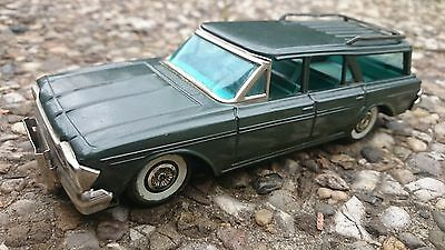 Haji Rambler Station Wagon Blechauto Tin Toy friction Japan