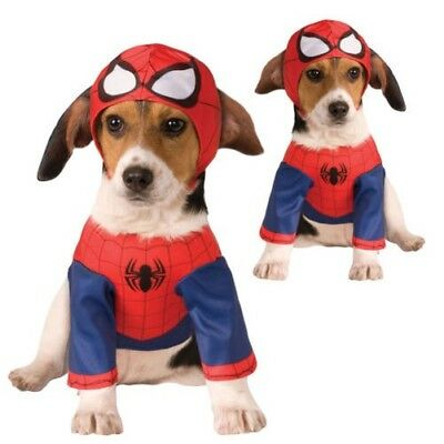 Rubies Official Licensed Spider-Man Dog Fancy Dress Costume Superhero Pet Outfit