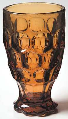 Imperial Glass Ohio PROVINCIAL AMBER 12 Oz Tumbler 6019984