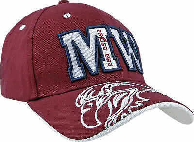 Manly Sea Eagles NRL Icon Letter & Logo Cap! BNWT's!