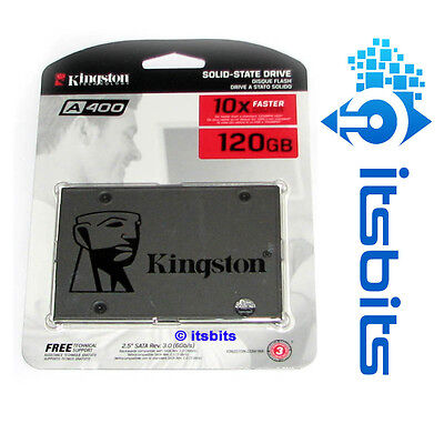 """KINGSTON A400 SSD 120GB SSD SATA3 6Gb/s 2.5"""" 3 YEARS Wty SOLID STATE DRIVE NEW"""
