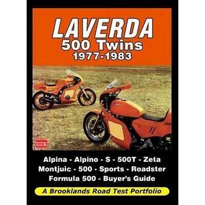 Laverda 500 Twins 1977-1983 Road Test Portfolio book paper motorcycle
