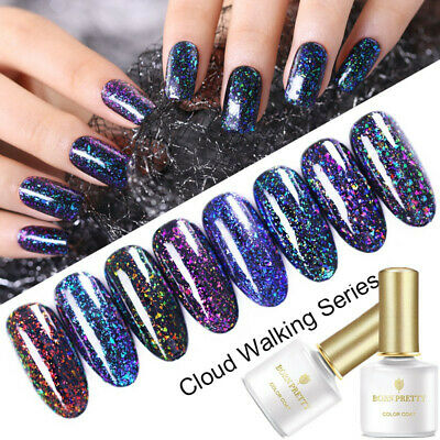 10ml BORN PRETTY Chameleon Sequins UV Gel Polish Soak Off Nail Art Gel Varnish