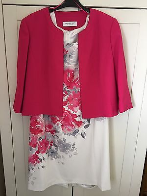 Jacques Vert dress and jacket - wedding outfit size 22 REDUCED