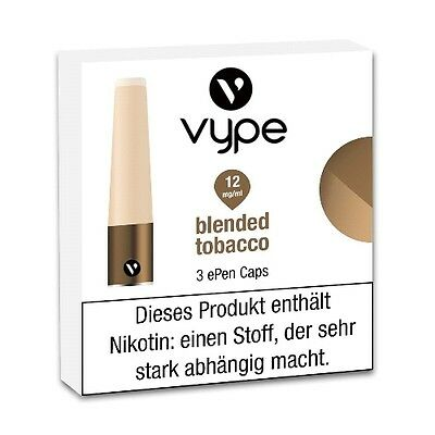 Liquidpatrone Vype Epen Blended Tobacco Refill 12 mg/ml à 3 Caps / 98419