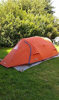 Vango Ostro 200 2-person fully geodesic lightweight backpacking tent BNWT