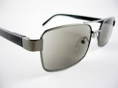 Gents Mens DESIGNER READING SUNGLASSES Metal Sun Readers +1.25 1.5 2 2.5 3 3.5