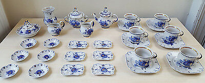 GZHEL Гжель USSR Russian Porcelain Pottery Vintage Collection Blue White TeaPot