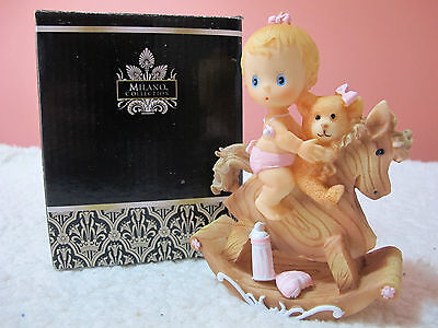 Milano Collection New Baby Girl Figurine, gift, baby shower, christening