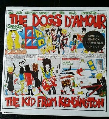 """Dogs D'amour The Kid From Kensington 7"""" Poster Bag"""