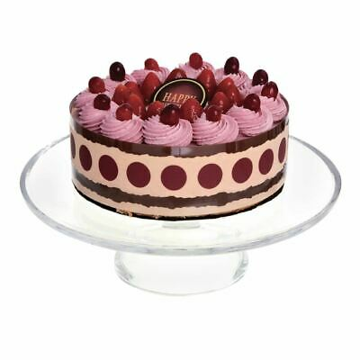 Olympia Cake Stand Base Made of Glass 305(Ø) x 95(H)mm Fits Dome CS014