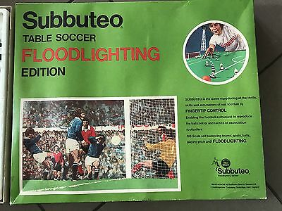 Subbuteo Floodlighting Edition plus accessories inc. Grandstand