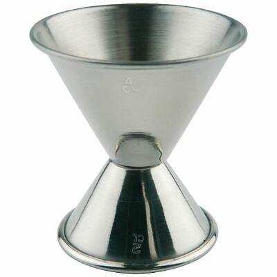 APS Jigger Spirit Measuring Cup for Cocktails in Stainless Steel 20ml 40ml