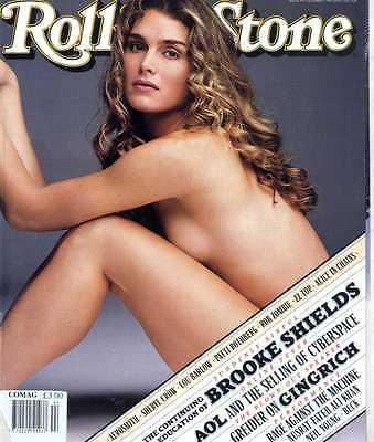 Rolling Stone Magazine #744 Brooke Shields, Rage Against The Machine, Neil Young