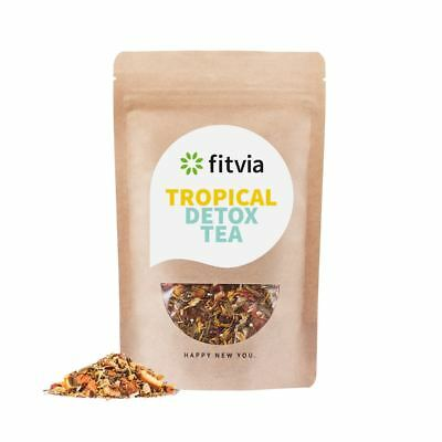 Fittea Tropical Detox Tea 28 Days 100g Pouch