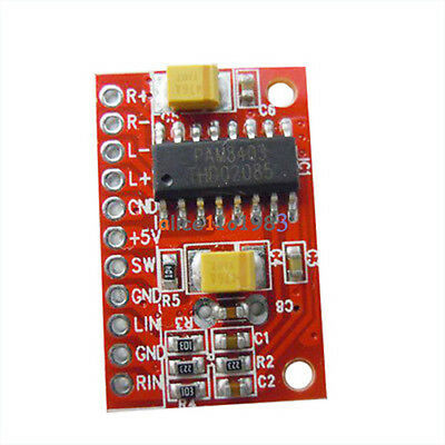 Mini amplificador Audio Digital Power Board USB DC 5 V W * 2 Arduino