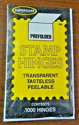 Supersafe Stamp Hinges ( Quality Fast Stamped Shipping, Low Cost, Packed Well )