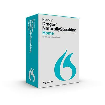 NUANCE Dragon Naturally Speaking Home 13 CD Licence Software