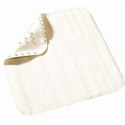 Rubber Shower Mat 540X540mm White Coasters Placemat