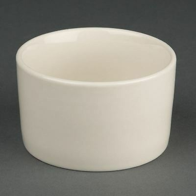 Olympia Ivory Contemporary Ramekins Made of Porcelain - 90mm Pack of 12