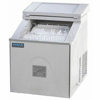 Polar Polar Ice Maker G620 And Chilled Display Cabinet G619 Combo Machine
