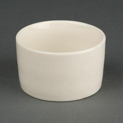 Olympia Ivory Contemporary Ramekins Made of Porcelain - 70mm Pack of 12
