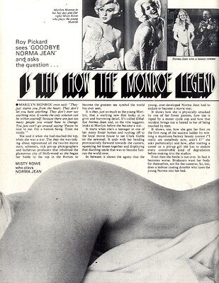 Misty Rowe : Is This How The Marilyn Monroe Legend Really Began Article & Pictur