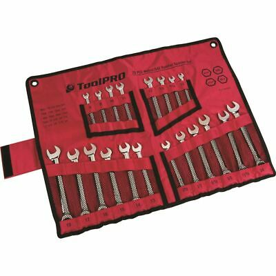 ToolPro Spanner Set - Ratchet, Metric/Imperial, 20 Piece