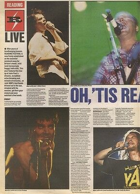 8/9/90 Pgn32/33/34/53 Review With Pictures:   At The Reading Festival 1990